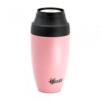 Термостакан Cheeki Coffee Mugs Leak Proof Pink 350 мл (ОСС350PN)