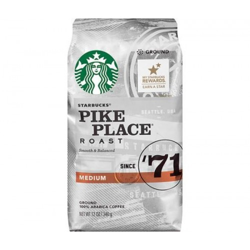 Кофе в зернах Starbucks Pike Place Roast, 340 грамм