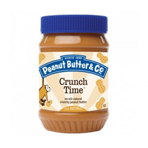 Арахисовое масло Peanut Butter & Co. Crunch Time, 462 гр.