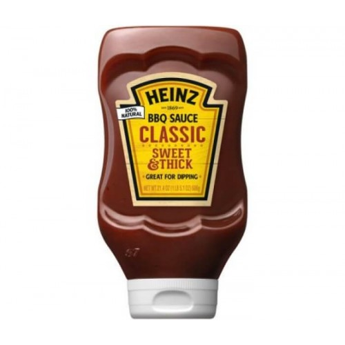 Соус барбекю Heinz Classic BBQ Sauce, 572 гр.