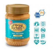 Арахисовое масло Crazy Richard's Creamy Natural, 454 грамм
