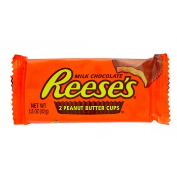 Конфеты Reese's Peanut Butter Cups, 210 грамм (42 грамма х 5шт)