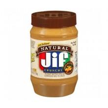 Арахисовое масло Jif Natural Extra Crunchy, 1.13 кг.