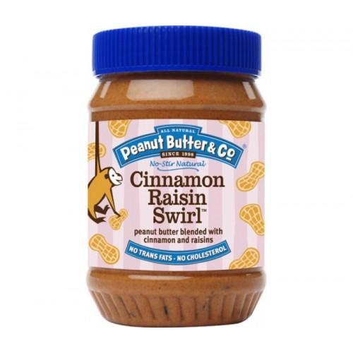 Арахисовое масло Peanut Butter & Co. Cinnamon Raisin Swirl, 462 грамм