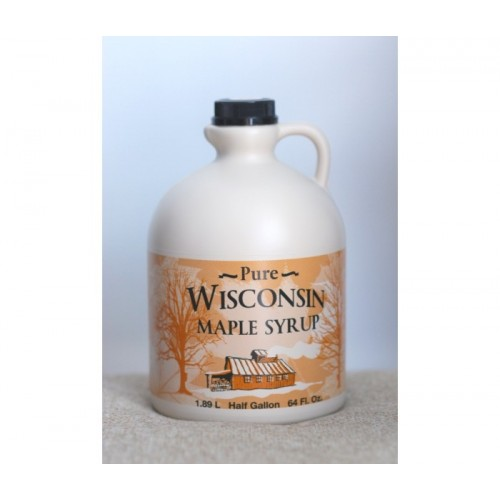 Кленовый сироп Wisconsin Pure Maple Syrup Grade B, 1.89 л.