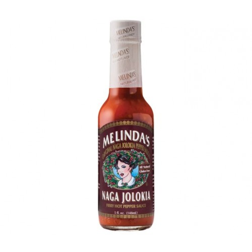 Острый соус Melinda's Naga Jolokia Pepper Sauce, 148 мл.