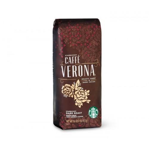 Кофе в зернах Starbucks Verona, 454 грамма