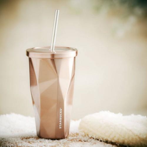 Термокружка Starbucks Cold Cup Rose Gold 473 мл (11031417)