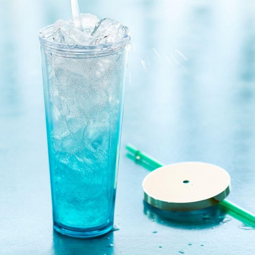 Тамблер STARBUCKS Cold Cup Blue Gradient 710 мл (11036779)