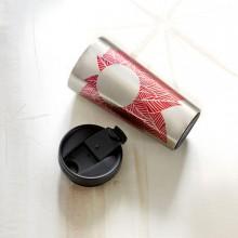 Термокружка Starbucks Pink Leaves 473 мл (11041168)