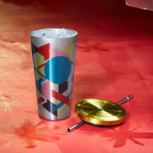 Термокружка Starbucks Cold Cup Multi-Color Geometric 473 мл (11041199)