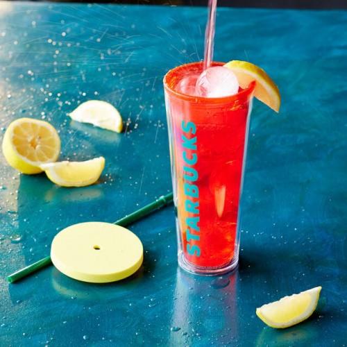 Термокружка Starbucks Refresher Cold Cup Orange 710 мл (11046489)