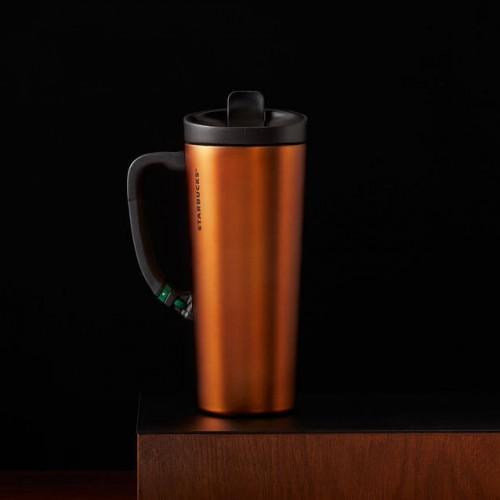 Термокружка Starbucks Clip Orange 473 мл (11046536)