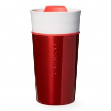 Тамблер STARBUCKS Red ss and ceramic 355 мл (11051198)