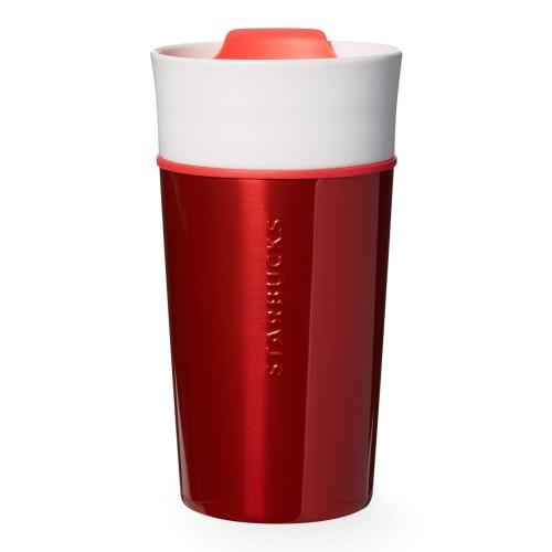 Термокружка Starbucks Red ss and ceramic 355 мл (11051198)