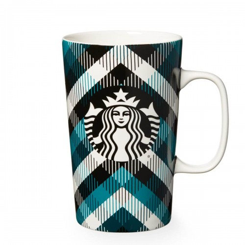 Чашка Starbucks Blue Plaid 473 мл (11051504)