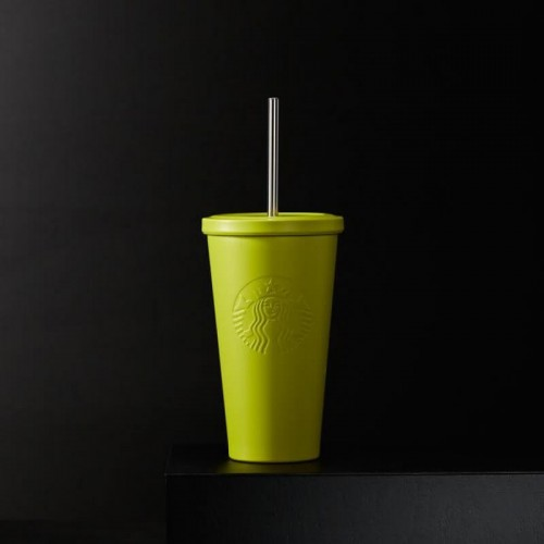 Стакан Starbucks Cold Cup Steel Yellow 473 мл (11051534)