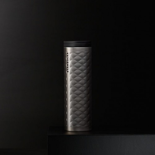 Термокружка Starbucks Quilted Silver 473 мл (11051549)