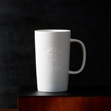 Чашка STARBUCKS Siren Matte White 414 мл (11052756)