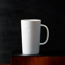 Чашка STARBUCKS Siren Matte White 355 мл (11052757)