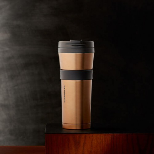 Термокружка Starbucks Soft Touch Bronze 473 мл (11053019)