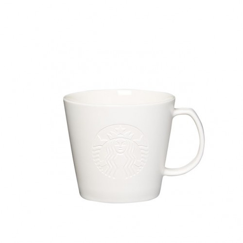 Чашка Starbucks Etched Siren White 355 мл (11053027)