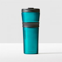 Тамблер STARBUCKS Grip Teal 473 мл (11060738)