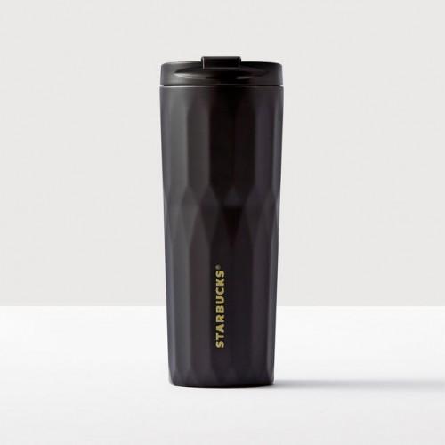 Термокружка Starbucks Faceted Matte Black 473 мл (11061564)