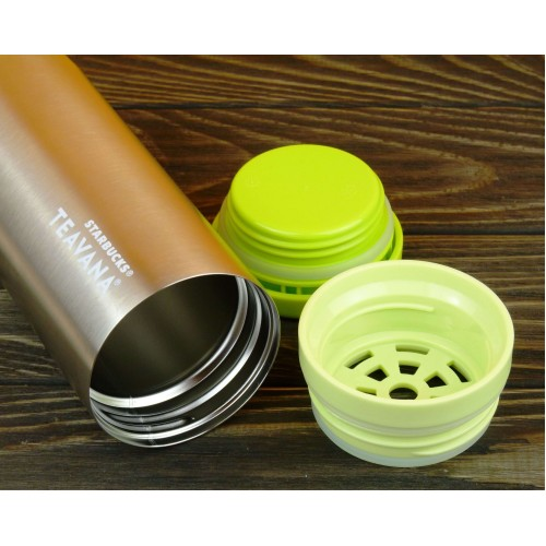 Тамблер STARBUCKS Teavana Tea Tumbler Yellow 355 мл (11062401)