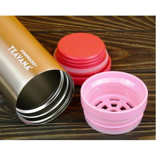 Термокружка Starbucks Teavana Tea Tumbler Pink 355 мл (11062873)