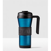 Тамблер STARBUCKS Grip with Handle Blue Turquoise 473 мл (11063613)