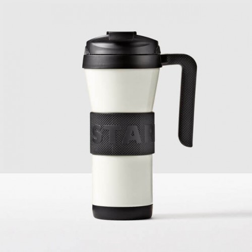 Термокружка Starbucks Grip with Handle White 473 мл (11063696)