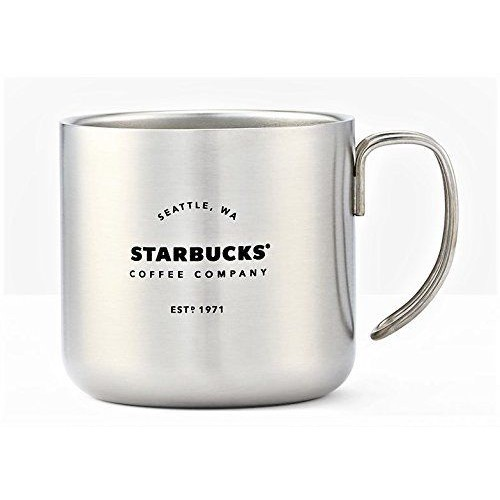 Чашка STARBUCKS Camp Silver 355 мл (11064773)