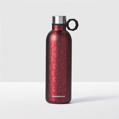 Термобутылка Starbucks Magenta Leopard 591 мл (11070858)