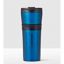 Тамблер STARBUCKS Matte Blue Grip 473 мл (11073524)