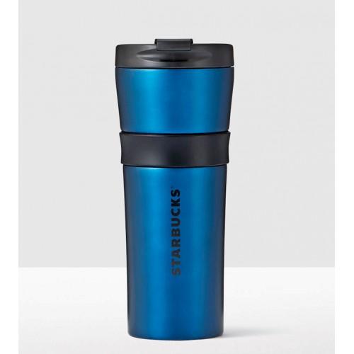 Термокружка Starbucks Matte Blue Grip 473 мл (11073524)