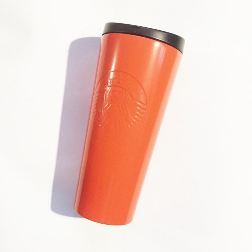 Тамблер STARBUCKS Embossed Coral 473 мл (11073526)