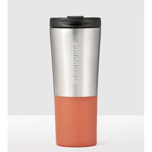 Термокружка Starbucks Brushed Silver & Orange  355 мл (11073532)
