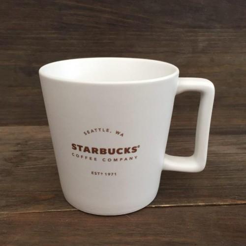 Чашка Starbucks 1971 Mug White 355 мл (11082060)
