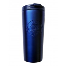 Термочашка STARBUCKS Embossed Dark Blue 355 мл (11088827)
