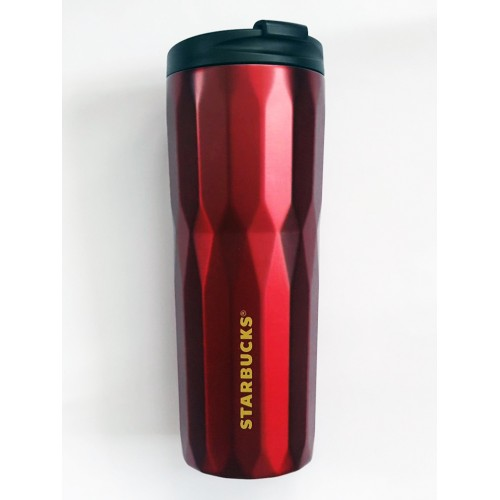 Термочашка Starbucks Faceted Matte Red 473 мл (11090917)