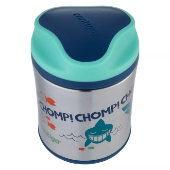Термос для еды Contigo Sharks Blue/Teal 295  (73507)