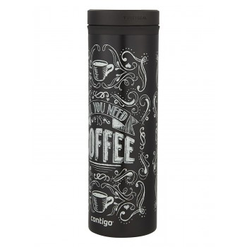 Тамблер Contigo Twist Seal Eclipse Black Coffee 591 мл (2002764)