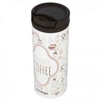 Термокружка Contigo Twist Seal Eclipse White Coffee 473 мл (2006112)