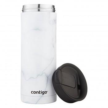 Термокружка Contigo Huron Couture White Marble 591 мл (2081778)