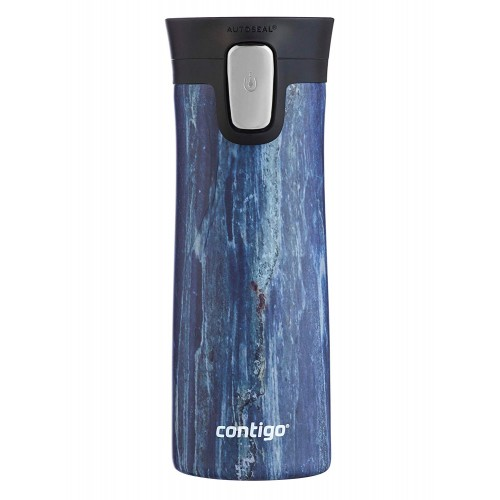Термокружка Contigo Pinnacle Couture Blue Slate 414 мл (2081931)
