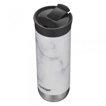 Термокружка Contigo Huron New Couture Snapseal  White Marble 591 мл (2133554)