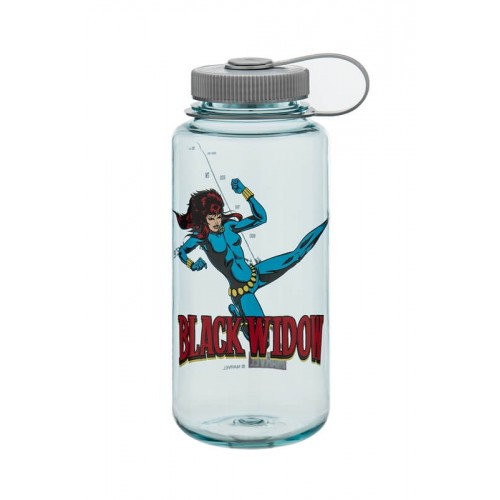 Бутылка Nalgene Seafoam Bottle With Black Widow And Platinum  1000 мл (682016-0111)