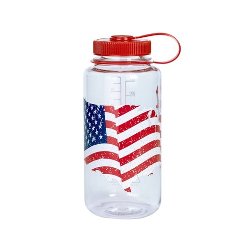 Бутылка Nalgene  FLAG Bottle Wide mouth-FLAG 1000 мл (682016-0704)
