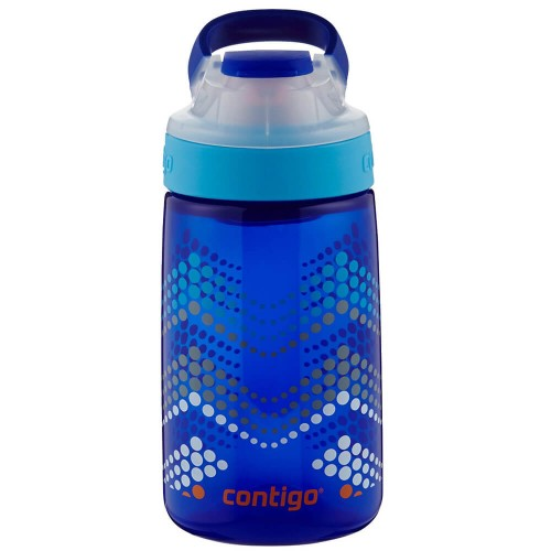 Бутылка Contigo Gizmo Sip, Saphire Bubble Chevron Graphic 415 мл (71284)